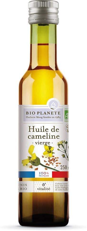 bienfaits de l'huile de cameline avec bio planète