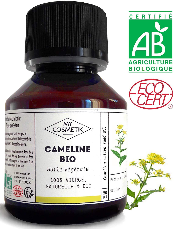 bienfaits de l'huile de cameline